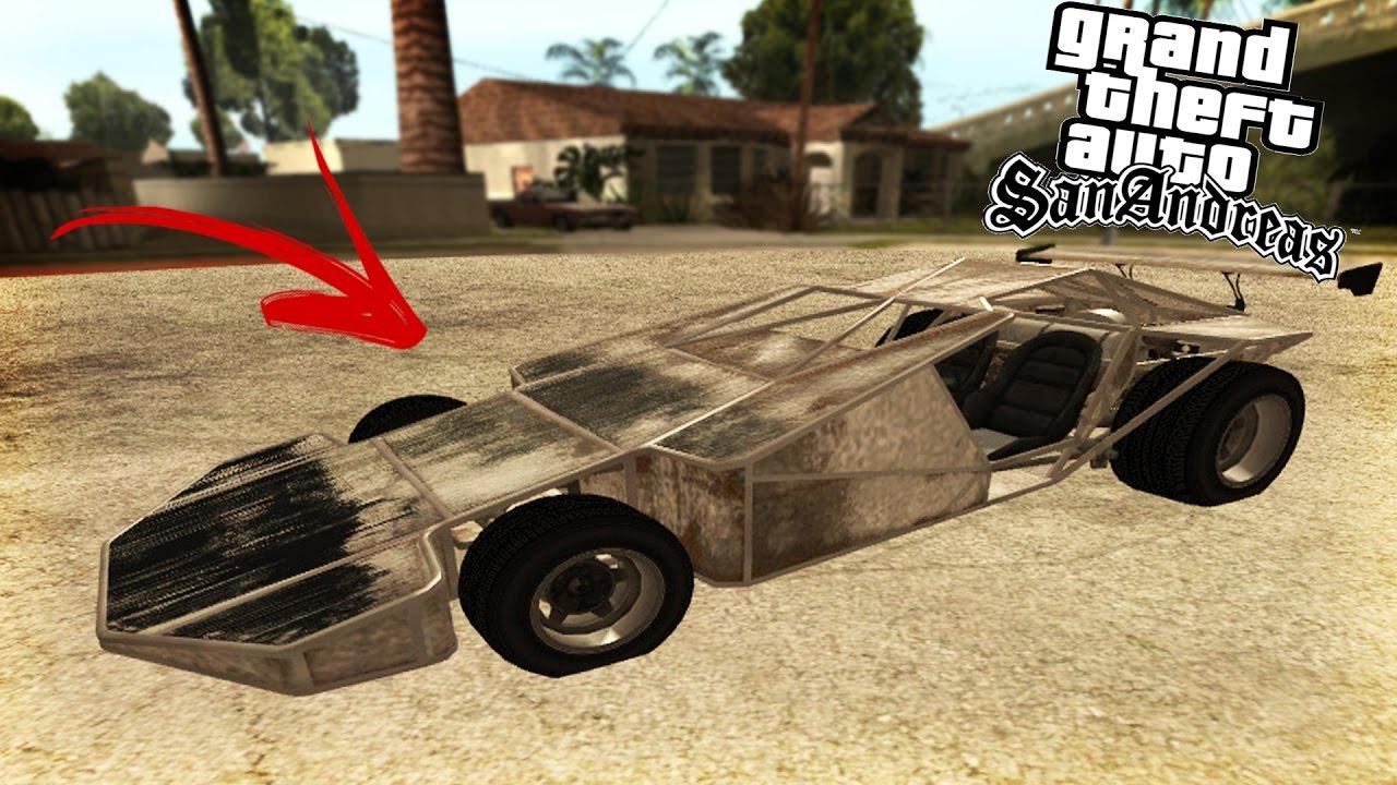 GTA San Andreas - MOD RAMP BUGGY DO GTA V - YouTube