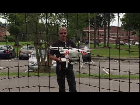 At NASA MUREP Aerospace and Aviation Career Education Camp our instructor flies a drone!