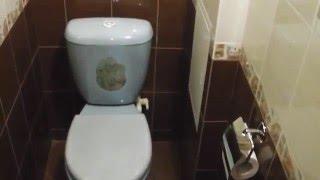 Обзор туалета после капитального ремонта.