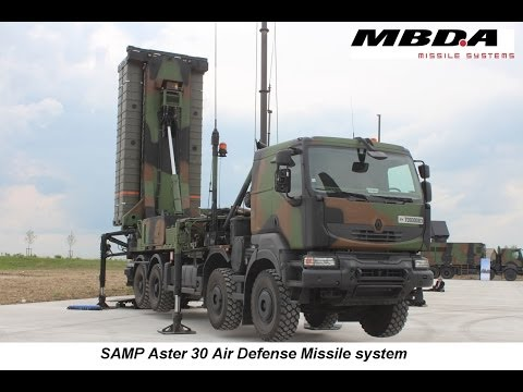 SAMP Aster 30 MBDA Air Defense Missile System French Air Force defense industry press tour