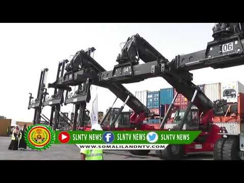 Somaliland:Port of Berbera receives new equipment to increase capacity