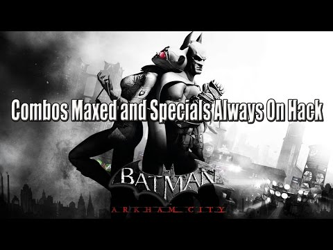 Batman Arkham City: Combos and Specials Always On Hack Cheat