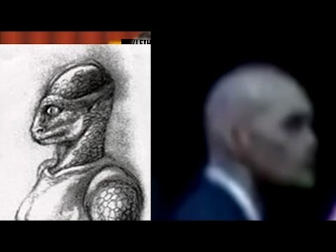 Reptiliano guardaespaldas de Barack Obama, REAL
