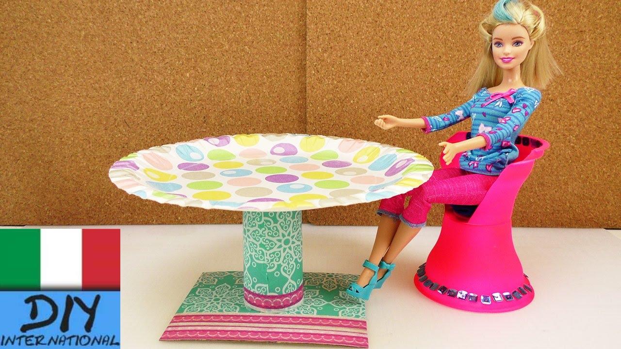 Mobili fai da te tavola rotonda per barbie istruzioni - Mobili decape fai da te ...