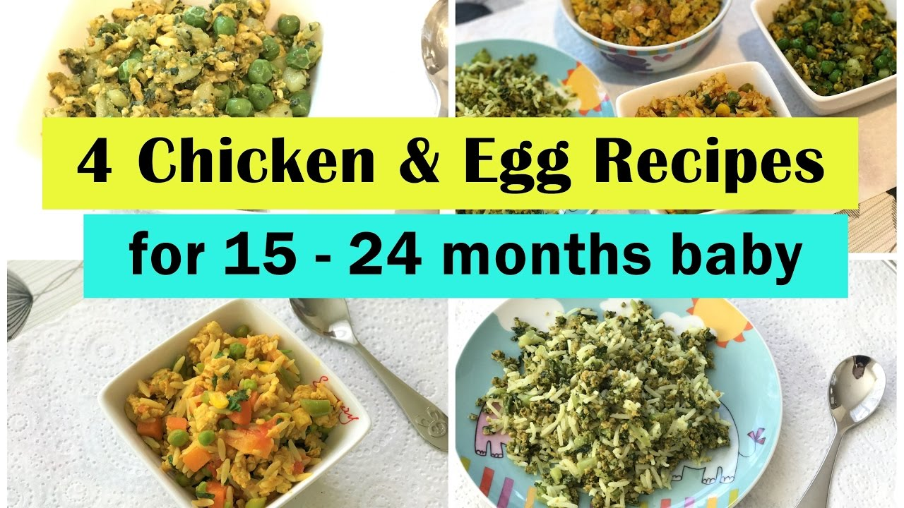 chicken  egg recipes for months baby indian toddler youtube also rh