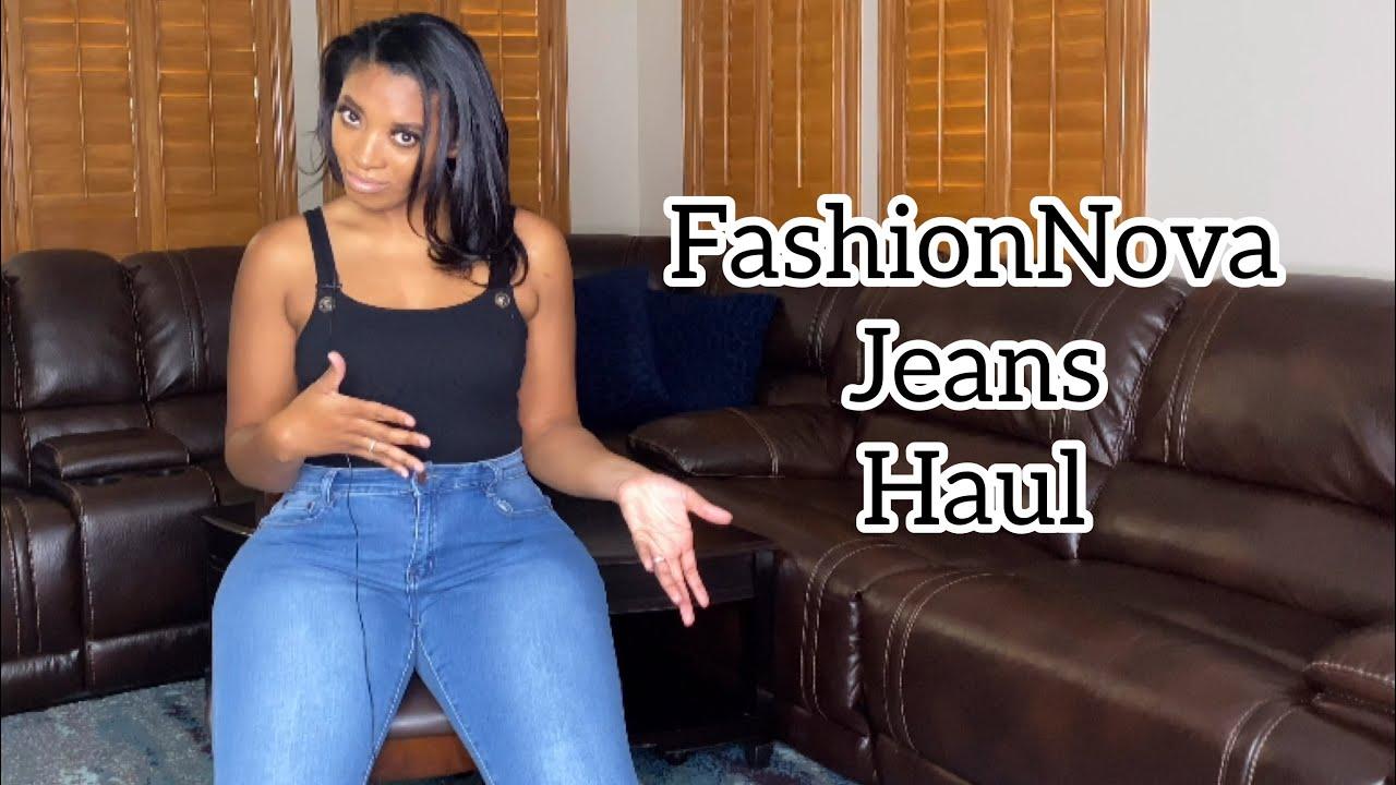 FashionNova Jeans Try-On Haul | Size 13 | Curvy