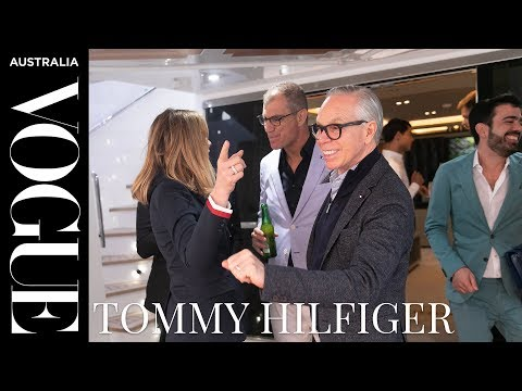 Tommy Hilfiger Takes You Inside His Sydney Super Yacht Party | Vogue Australia