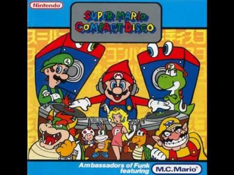 SuperMario Compact Disco - Go, Mario, Go!