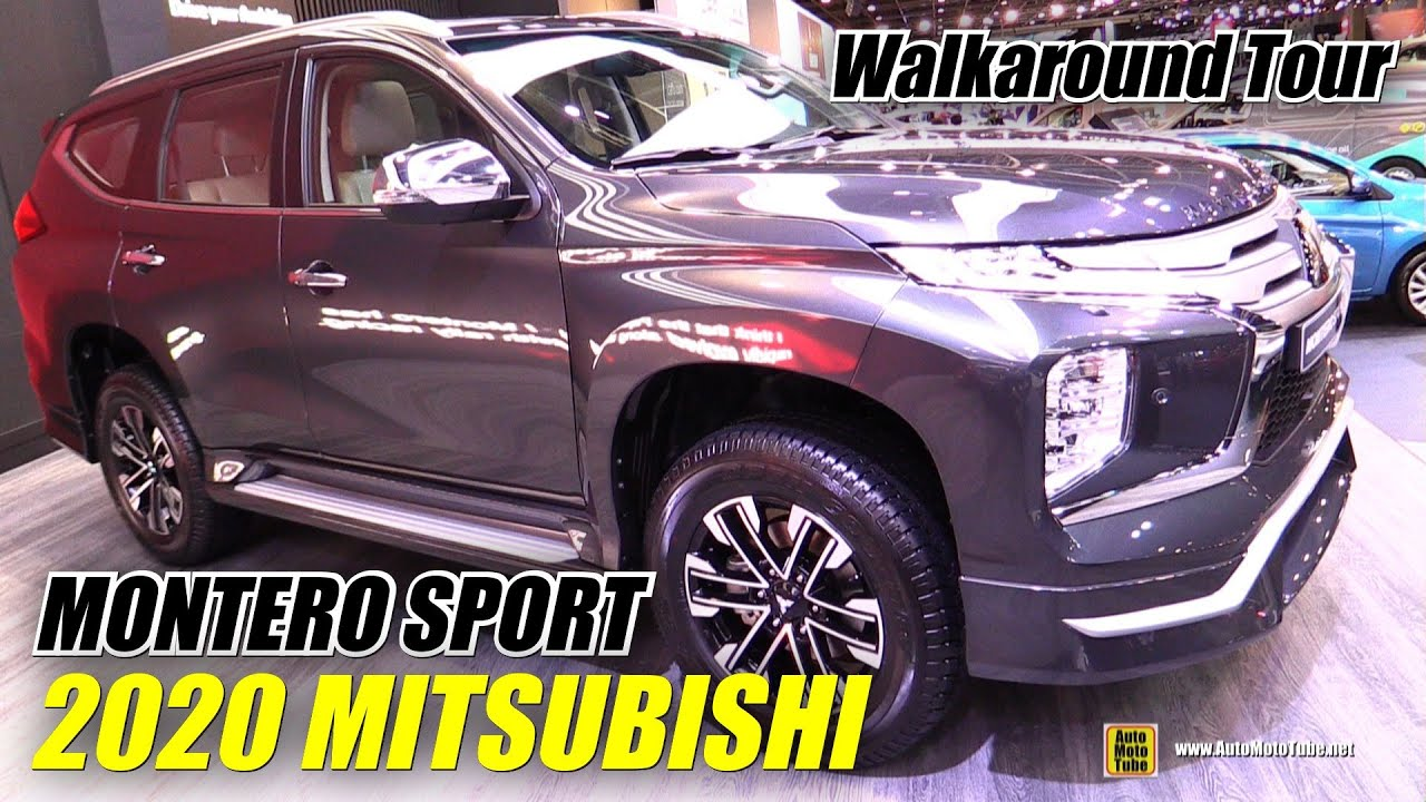 2020 Mitsubishi Montero Sport - Exterior Interior Walkaround - Debut at 2019 Dubai Motor Show