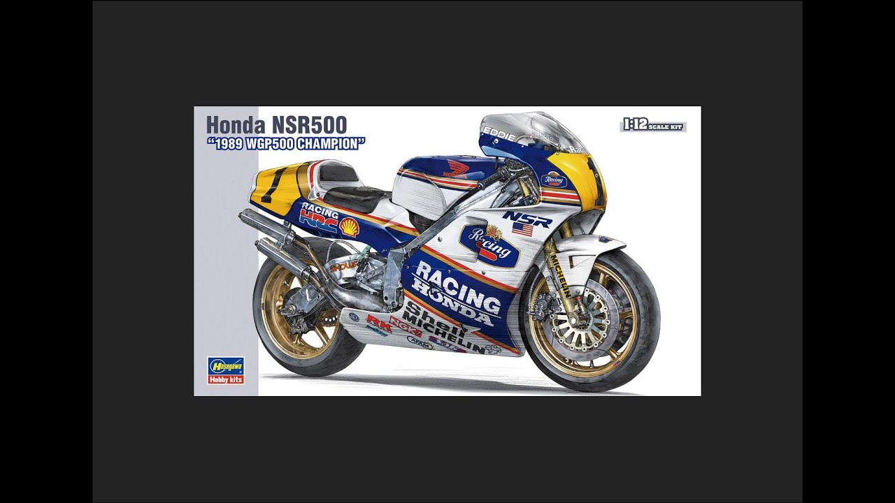 hobby kits 1 12 scale. Hasegawa 1/12 Honda NSR500 Scale Model Review Hobby Kits 1 12 T