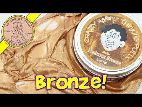 Crazy Aaron's Lustrous Bronze Metallic Thinking Putty - Putty World