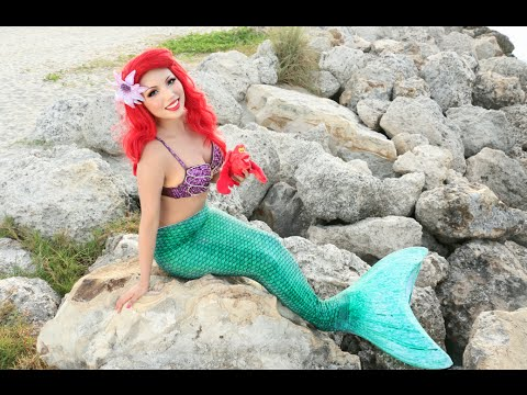 Disney's Little Mermaid Makeup Tutorial !!!