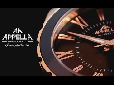 Часы Appella - Гармония швейцарской классики