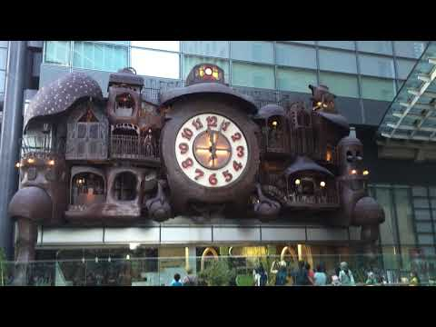 "orologio ""Ni-Tele Ootokei"" (日テレ大時計) , Shiodome , Tokyo"