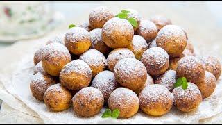 Творожные шарики (творожные пончики во фритюре)
