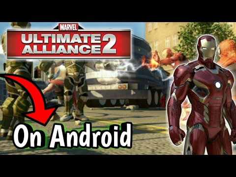 How to download Marvel Ultimate Alliance 2 || For Android || Only 30mb