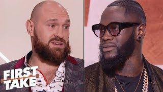 Deontay Wilder vs. Tyson Fury exclusive pre-fight interview | First Take | ESPN
