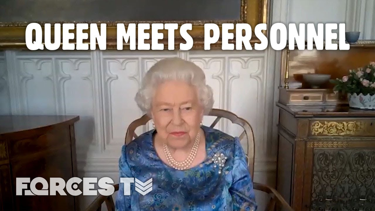 Watch The Queen's Video Call With British Military Personnel! | Forces TV