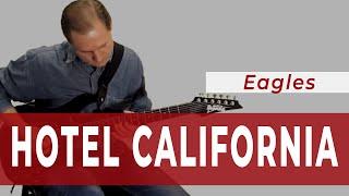 Hotel California - Eagles (Guitar Cover) - Школа Гитары SERENADA
