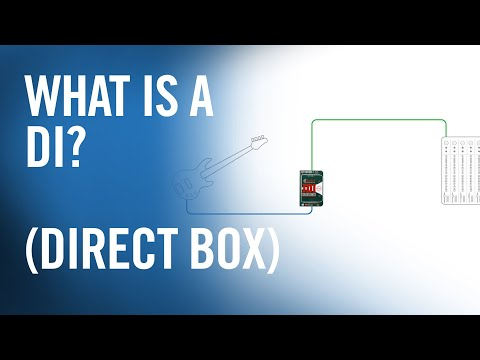 What is a DI (Direct Box)? — The Production Academy