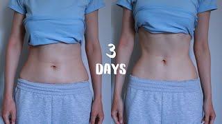 3 дня пробую диету и тренировку моделей Как похудеть за 3 дня