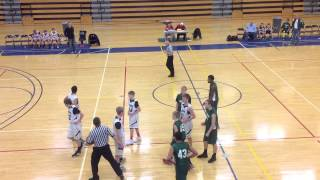 2013 8th Grade East Ridge  vs Mayo Rochester Semi-Final Part 1
