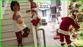 Ryan Caught Santa Claus on Christmas!! thumbnail