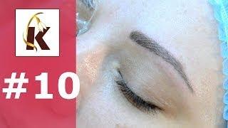 3d перманентный макияж  (татуаж ) бровей, волосковый метод- выпуск #10(, 2014-06-18T15:04:24.000Z)