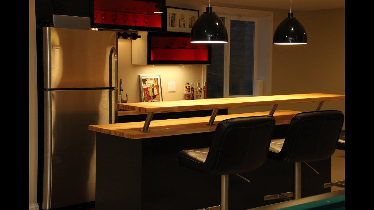 Cozinha Americana Com Barzinho Gallery Of Mvel Barzinho Mogno Com