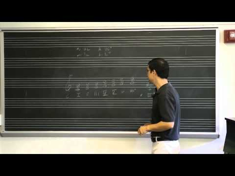 Lesson 13: Roman Numerals and Triads In Keys