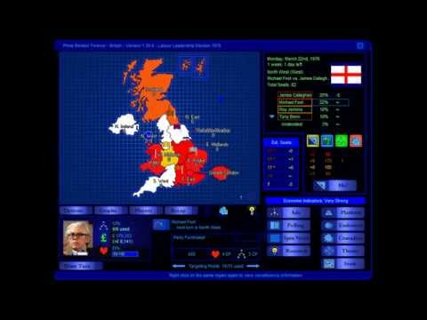 Labour Leadership 1976 Election Game (Michael Foot)