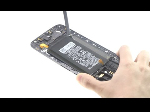 How to teardown Moto X Pure/X Style to replace battery