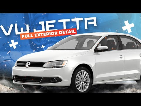 SPRING CLEANING AND DETAILING OF A 2013 VW JETTA !! Paint, wheels, engine bay, undercarriage, glass.