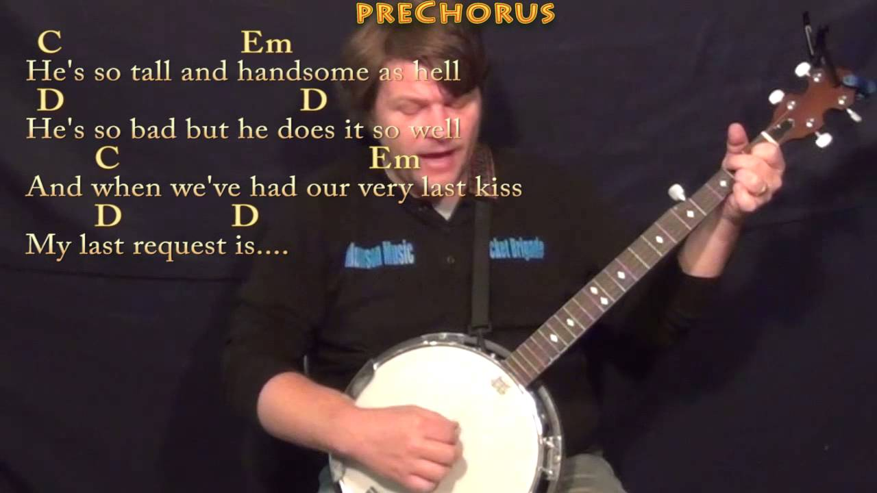Wildest Dreams Taylor Swift Banjo Cover Lesson In G With Chords