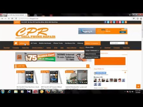 Mobile Repairing Best Website And Mobile Firmware Free Download