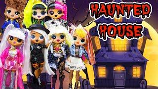OMG Dolls Visit Halloween Haunted Abandoned High School Trick Or Treat