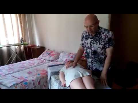 Treatment of cerebral palsy, lower paraparesis, an atonic-astatic form