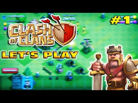Clash Of Clans Let's Play! (Part 1) - Road To Legend - A NEW START!