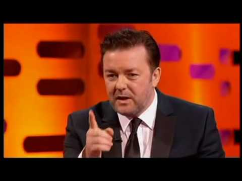 Ricky Gervais on Graham Norton - 5th October - Part Two
