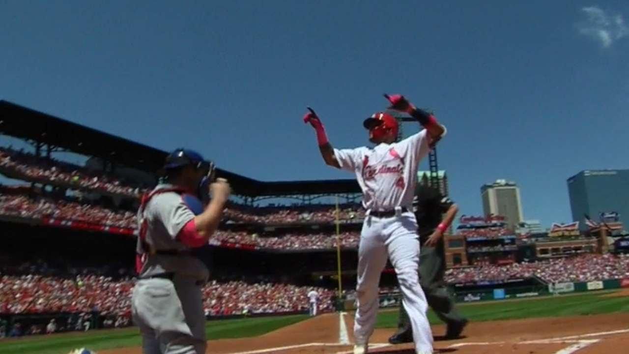 Cardinals' crazy, nine-run eighth ends Cubs' winning streak at six
