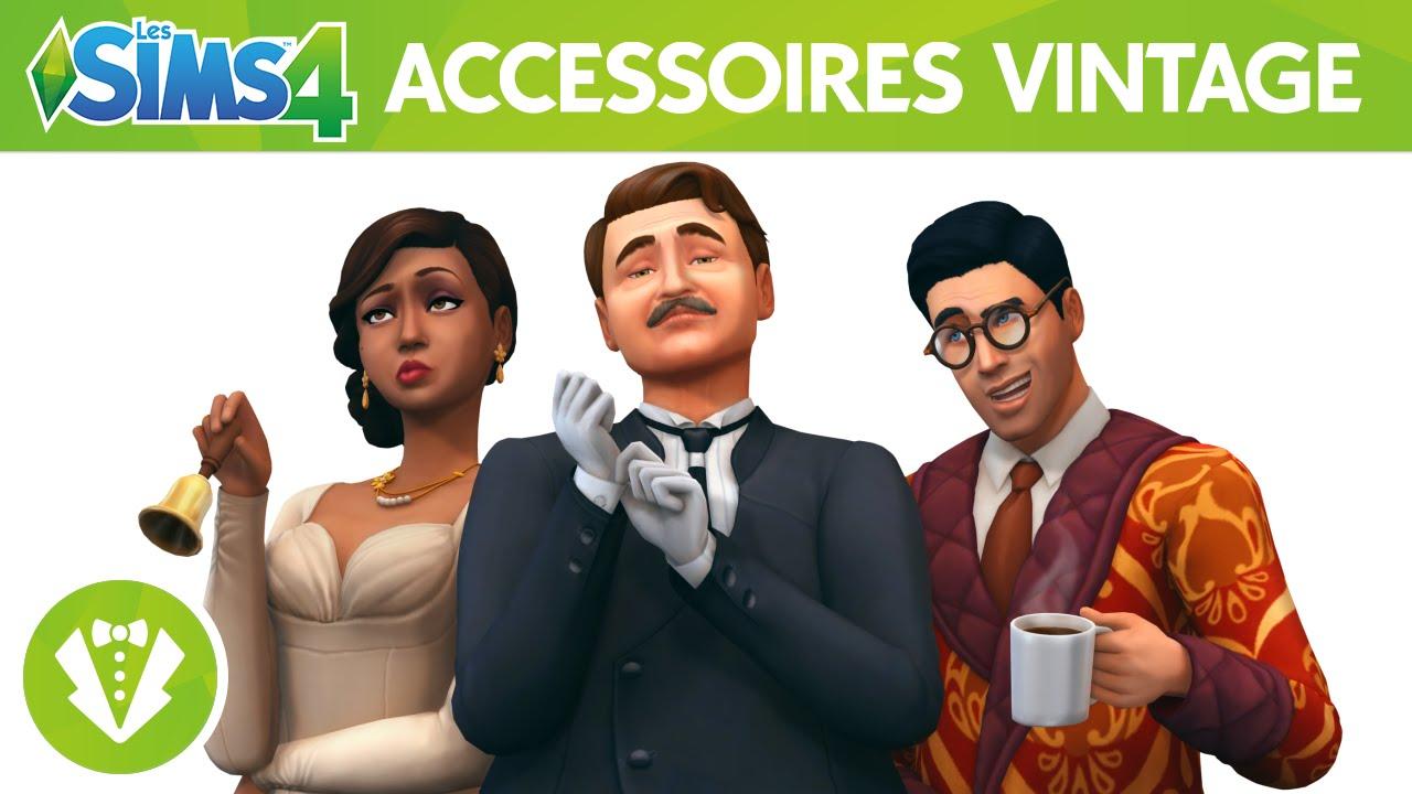 Les Sims™ 4 Kit d\u0027Objets Accessoires Vintage  bande,annonce officielle