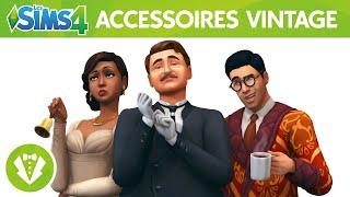 Les Sims™ 4 Kit d'Objets Accessoires Vintage : bande-annonce officielle