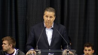 Kentucky Wildcats TV: Coach Calipari and The Cats Celebration - 2014
