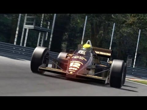 Gran Turismo 6 Ayrton Senna DLC Trailer
