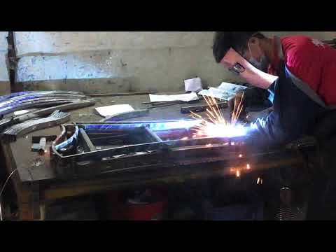The Welding Process Of Stainless Steel Chair Frame