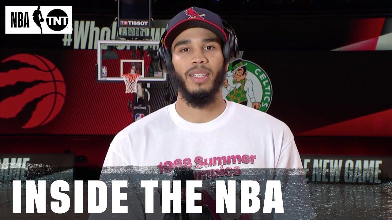 Jayson Tatum Joins Inside After the Celtics Advance to the ECF | NBA on TNT