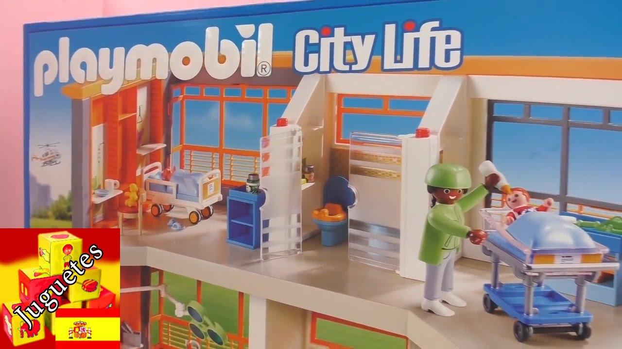 Playmobil hospital espa ol hospital de ni os de for Hospital de playmobil