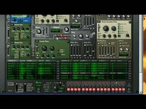 Reason 4 - Thor Synthesizer (presets) [PS:Loud Sound!]