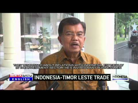 Indonesia and Timor Leste to Increase Investment & Trade
