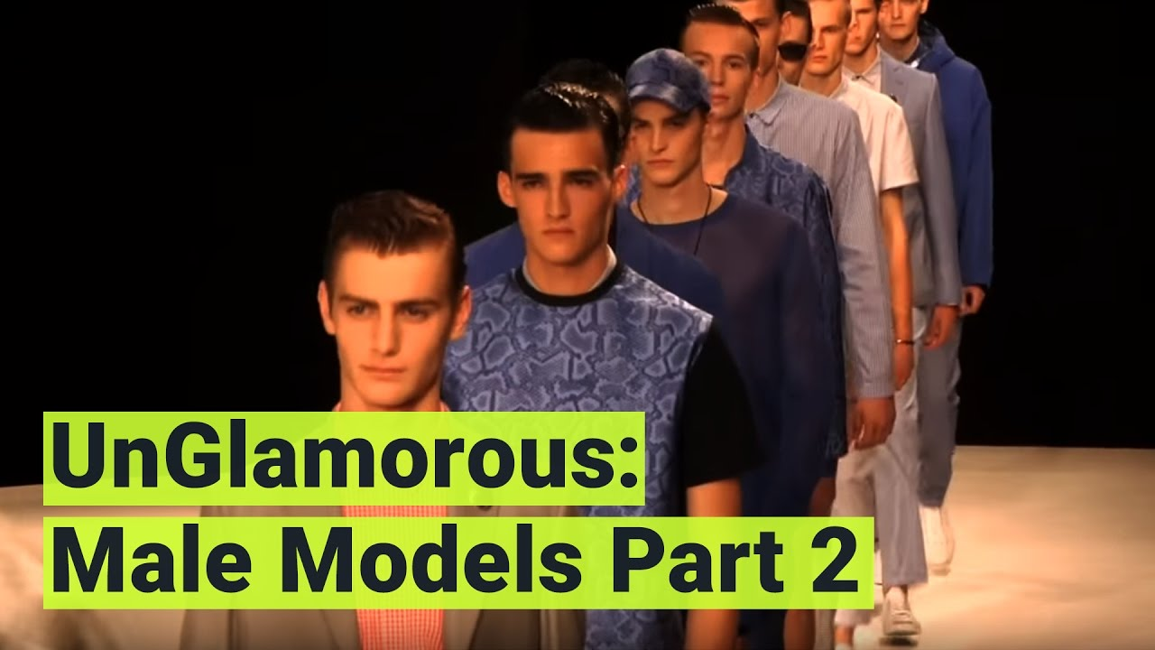 The financial reality of being a male model is not pretty